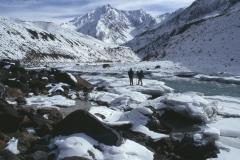 Chaddar - over de bevroren Zanskar rivier naar sTongde
